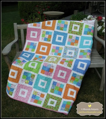 I was considering using this pattern for a beginning quilting class.  It is called Shortcake by Cluck, Cluck, Sew