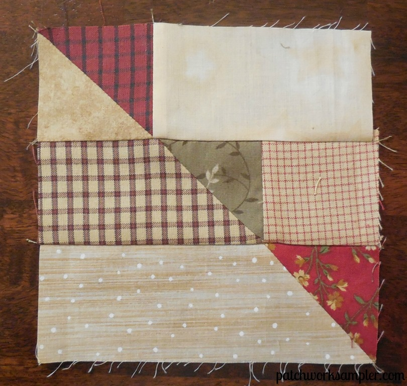 November Small Group Challenge:  Poinsettia Quilt