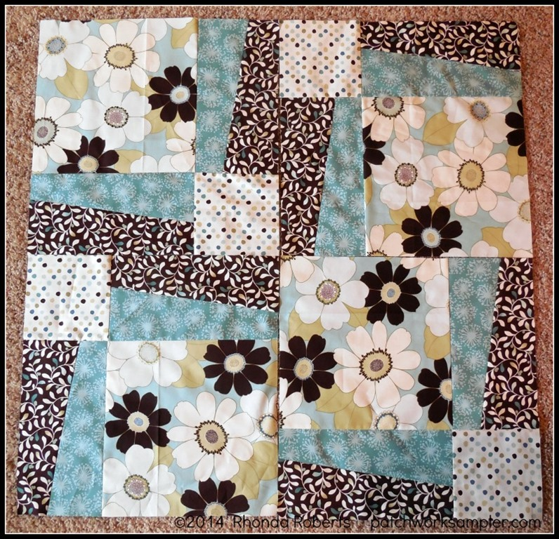 Piecing BQ3; A Fast and Easy Quilt