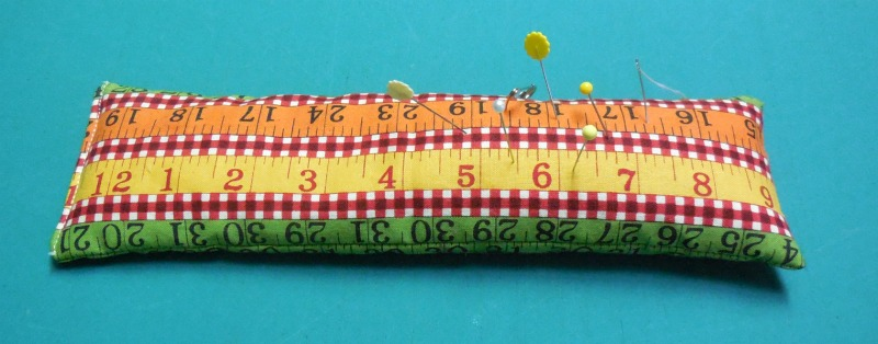 ruler pincushion