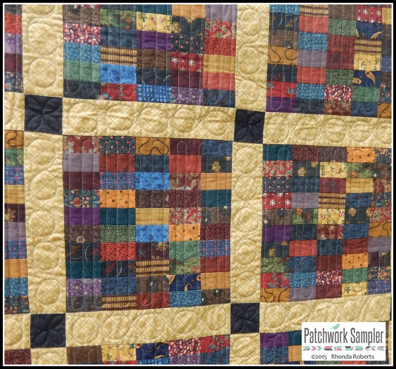 stamp quilting