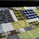On the Frame: Parson Gray Scrap Quilt