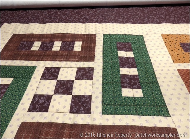 Sideways and Byways quilting
