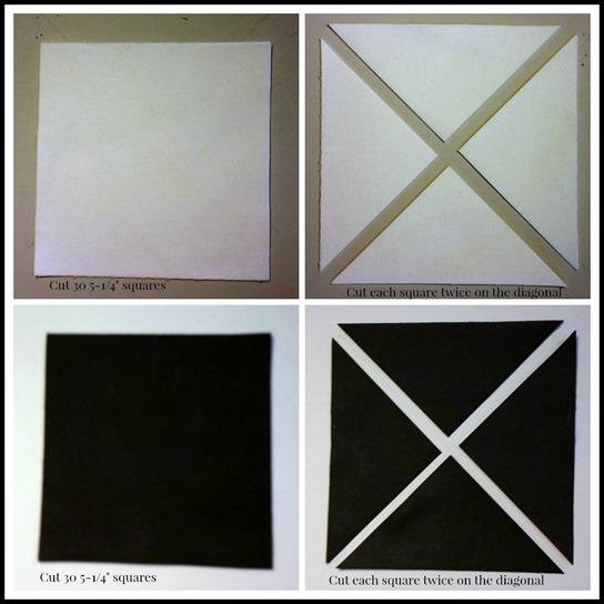 black-white collage