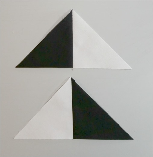 finished triangle units