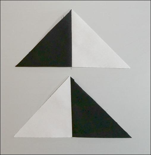 finished triangle units