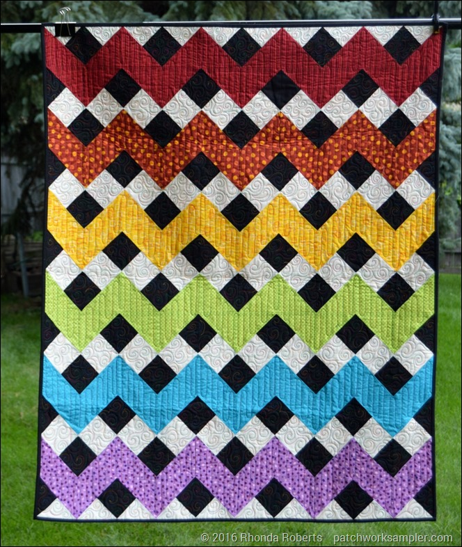 Rainbow Chevron-1