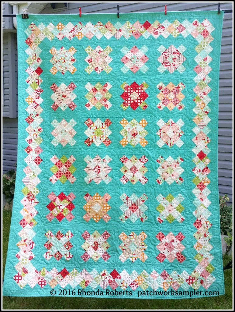 granny squares finish 3