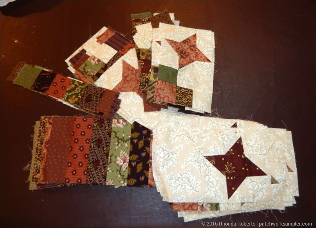 Dazzling Stars border blocks