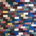 Scrappy Brickwork Quilt for DWM