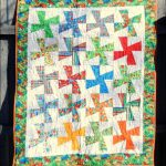 Pinwheel Baby Quilt: Week 10 Friday Finish