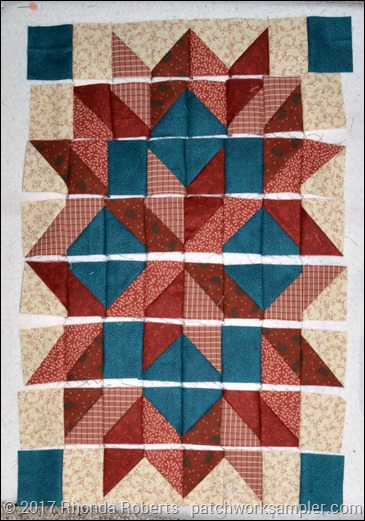 webbed carpenter's star block