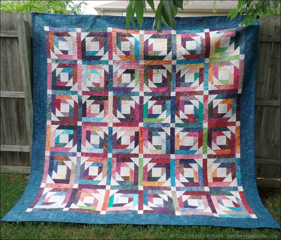wedding quilts-Pineapple Blossom full