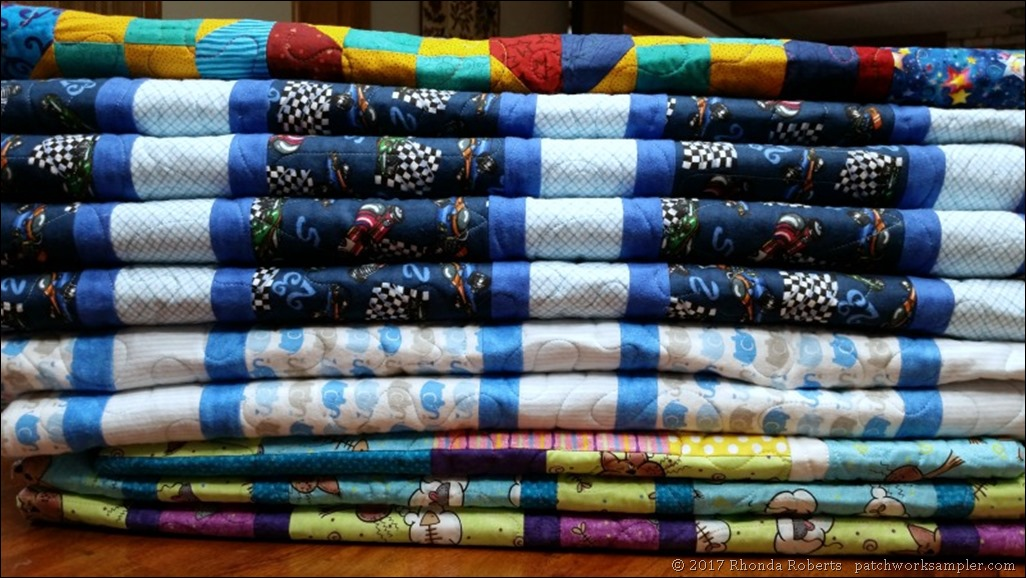 OMG 10 baby quilts