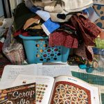 August One Monthly Goal: Cutting Scrap Quilts