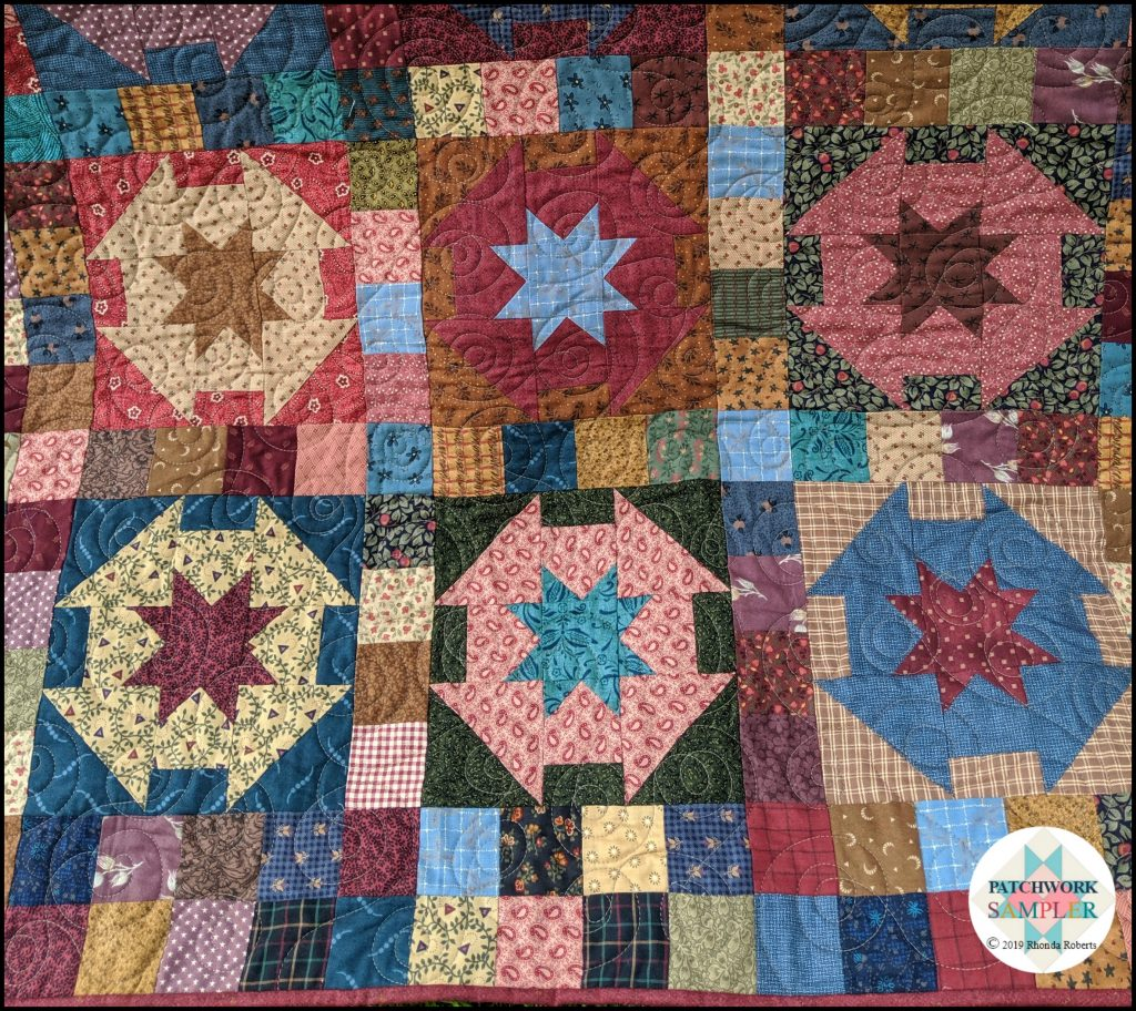 Pie In The Sky Machine Quilting