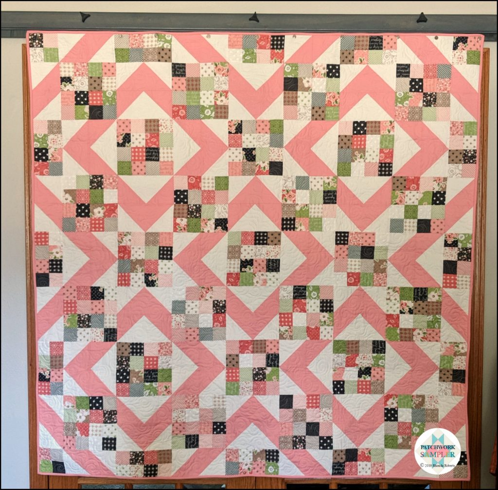 Finished Sunny Skies quilt
