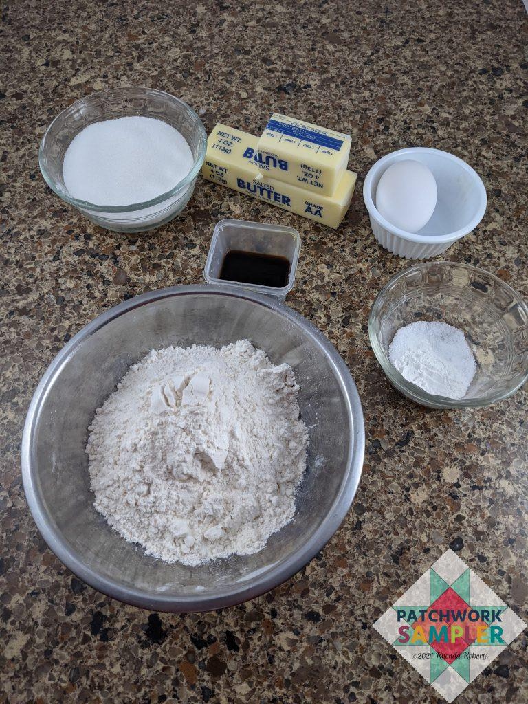 sugar cookie ingredients