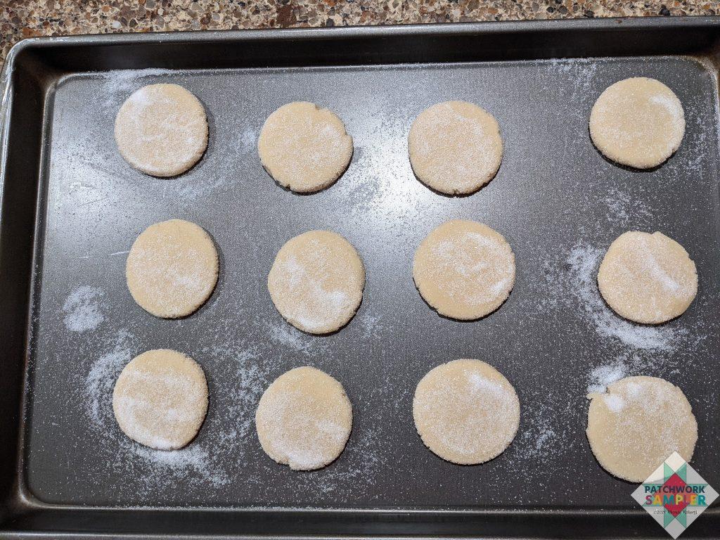 cookies prebaking