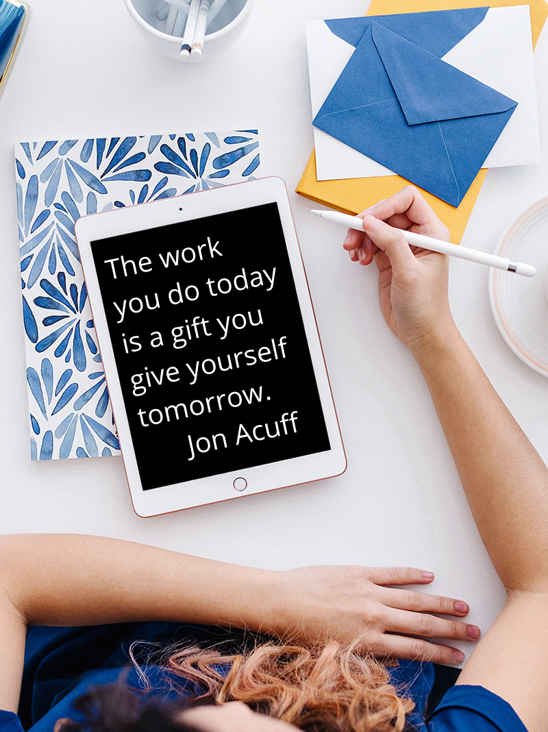 Monday Motivation: A Gift You Give Yourself