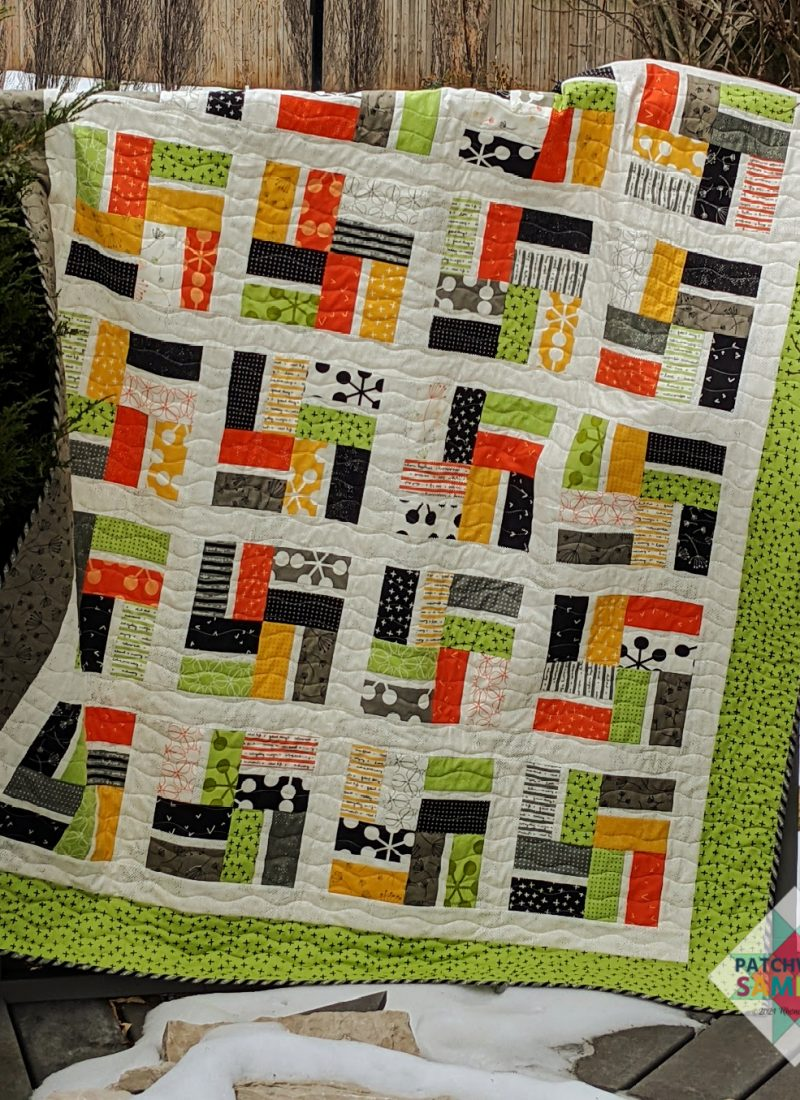 The Neighborhood quilt