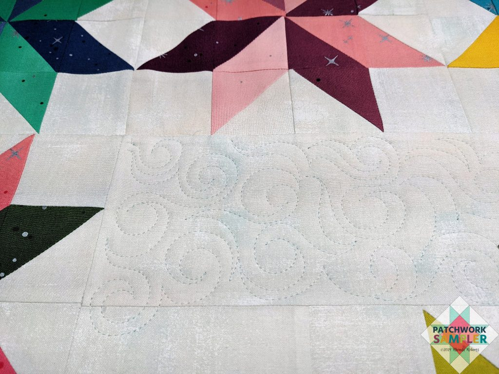 Ombre Stars Quilting