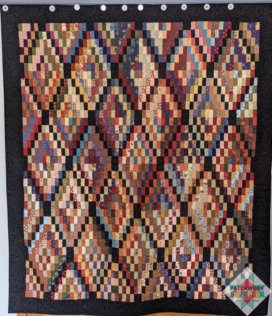 Rectangle Wrangle quilt