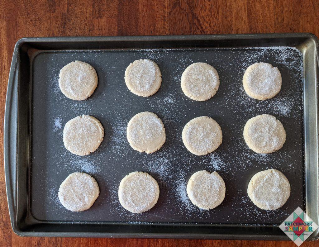 sugar cookies prebake