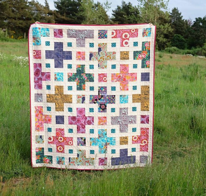 Current WIP: Violet Quilt A Long