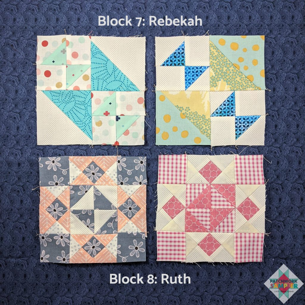 Women of the Bible Blocks 7 and 8