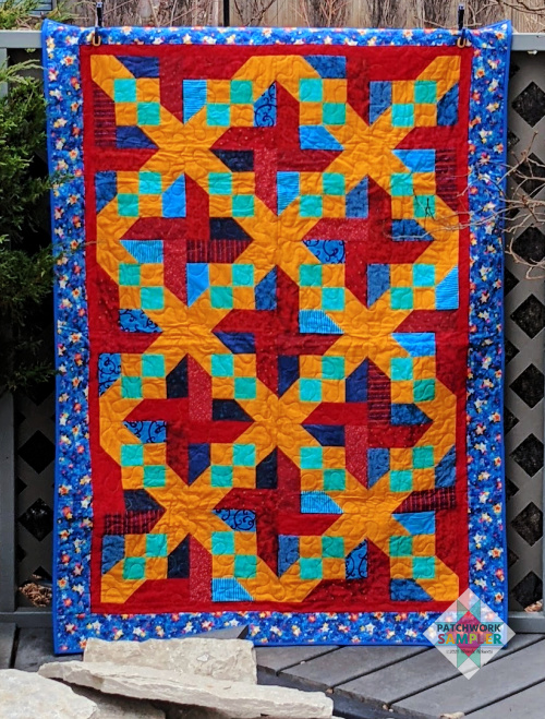 Friday Finish: Rock Candy Quilt