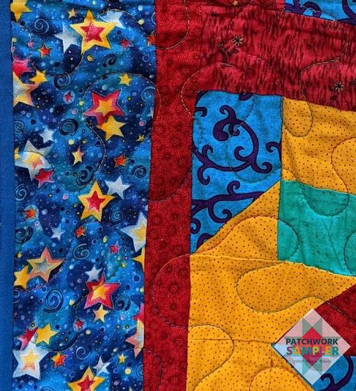 Rock Candy border fabric