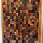Friday Finish: Homespun Tumbler Quilt
