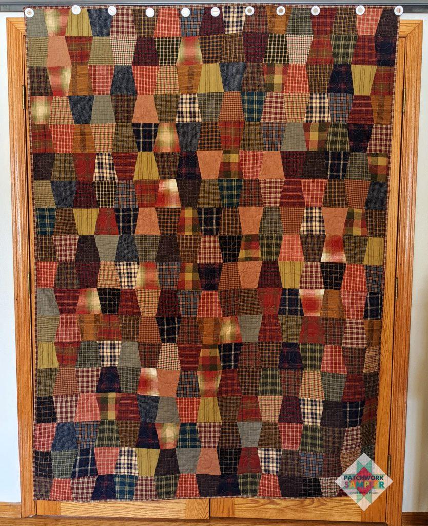 Homespun Tumbler quilt