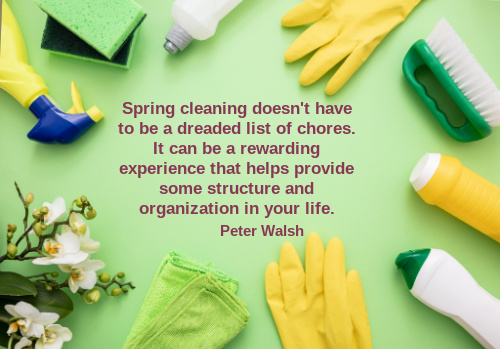 spring cleaning quote