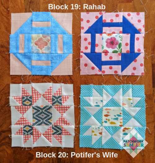 women of the bible blocks 19 and 20
