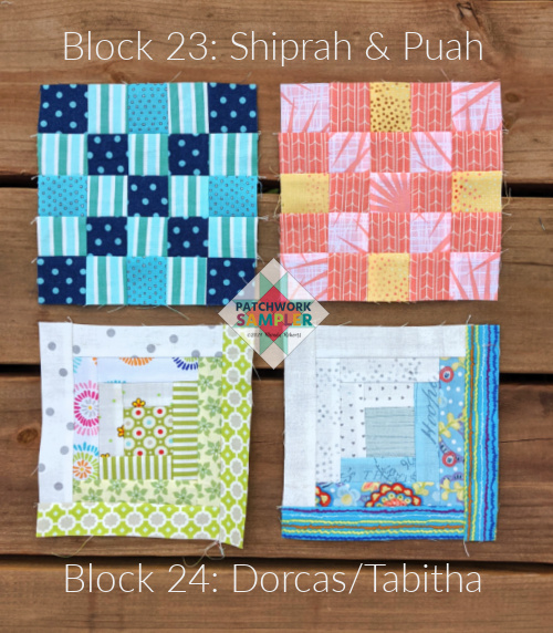 women of the bible quilt blocks 23 and 24
