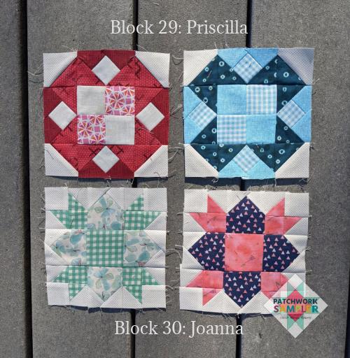 Women of the Bible Blocks 29-30