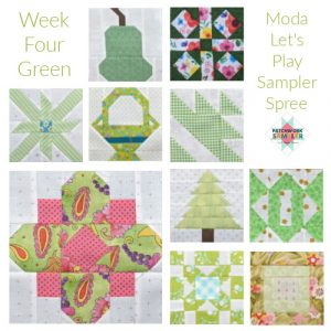 green sampler spree blocks