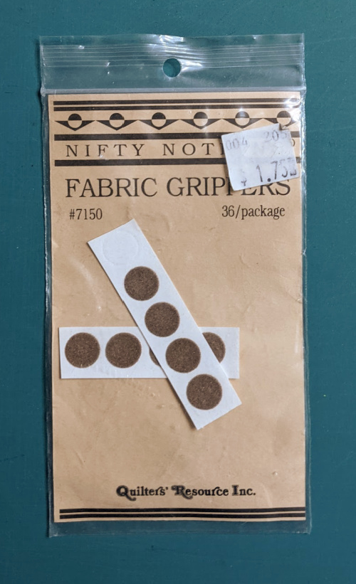sandpaper dots for acrylic rulers