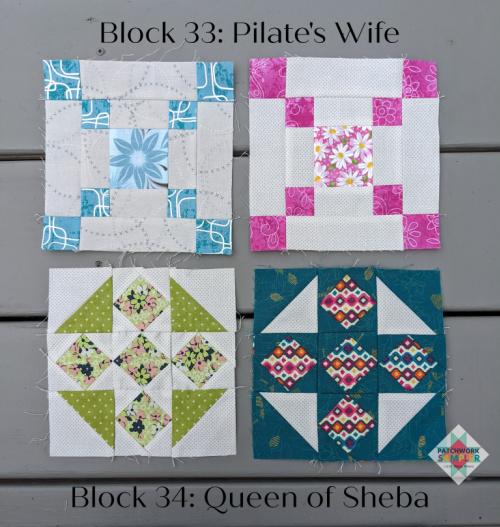 Women of the Bible Blocks 33-34